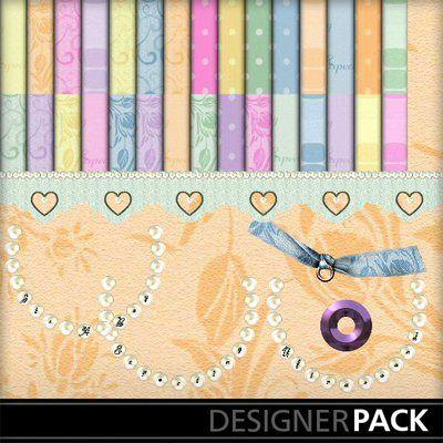 Digital Scrapbooking Kits | Expecting-(Sassy) | Celebrations, Family | MyMemories Sassy Designz