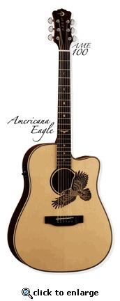 Americana Eagle Luna Guitar