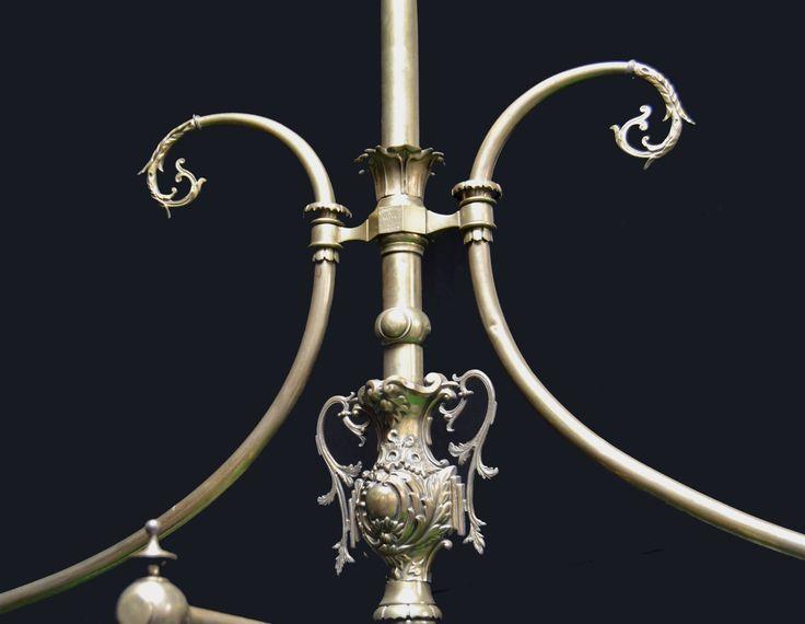 An Outstanding Decorative Billiard, Snooker, Pool Table Light By BURROUGHES  U0026 WATTS   Billiard