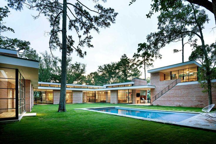17 best dillon kyle architects 420 oak lane images on for Mid century modern architects houston