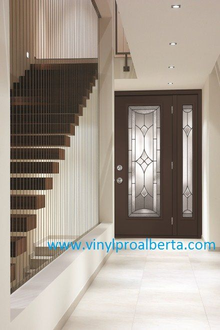 17 best images about front doors with sidelights on - Steel vs fiberglass exterior door ...