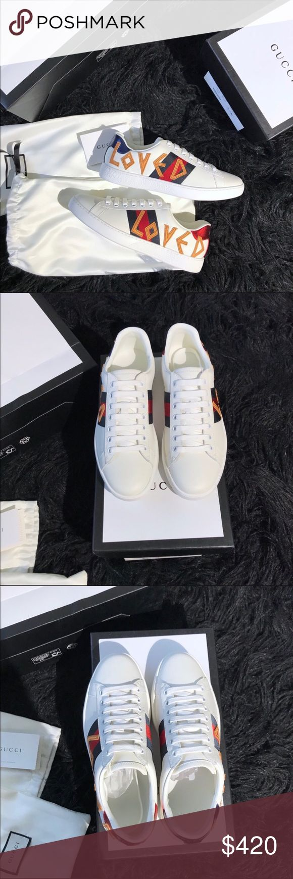 Gucci If Interested Text My Number 708-792-0232TO purchase send size and picture. Also for negotiating price contact me 708-792-0232 Gucci Shoes Sneakers