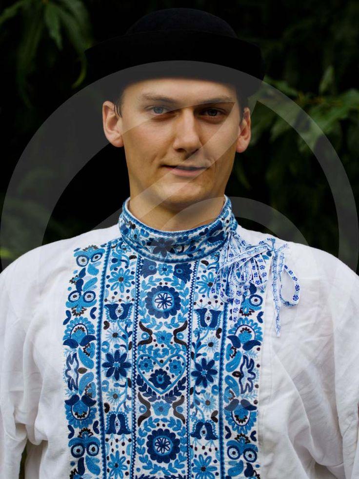 Folk costume from Myjava town, Western Slovakia(Moravské Lieskové)