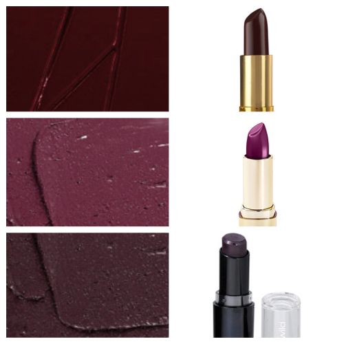 top 3 vampy mac lipsticks and their drugstore dupes from