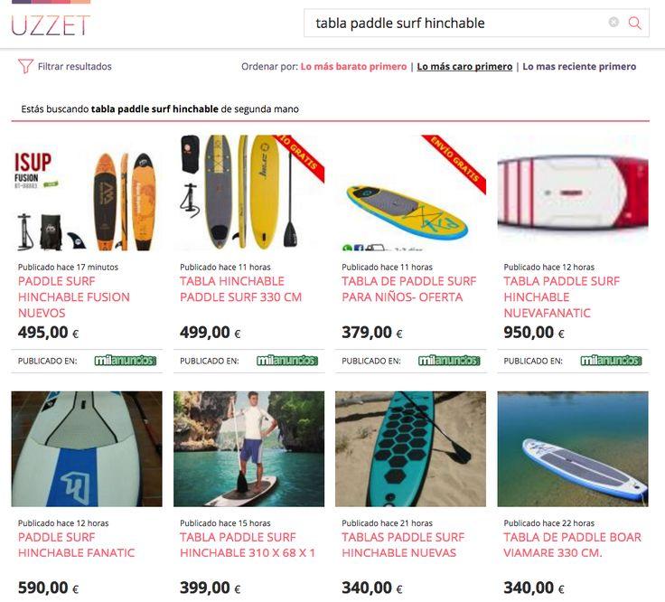 tablas paddle surf de segunda mano en uzzet.com