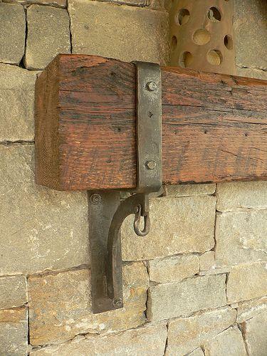 exterior mantle brackets (detail) by karinedch, via Flickr