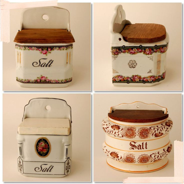 The Daily Swank: Fancy Vintage Salt Boxes