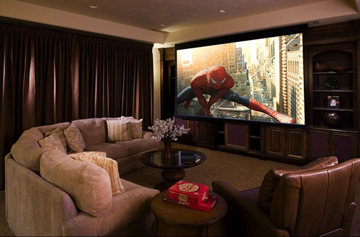 17 best images about hometheater sala on pinterest madeira home theaters and tvs - Sala home theatre ...