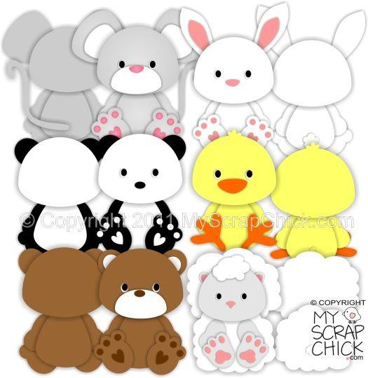 Animal Paper Piecing Patterns | Sweet Animal Treat Bags