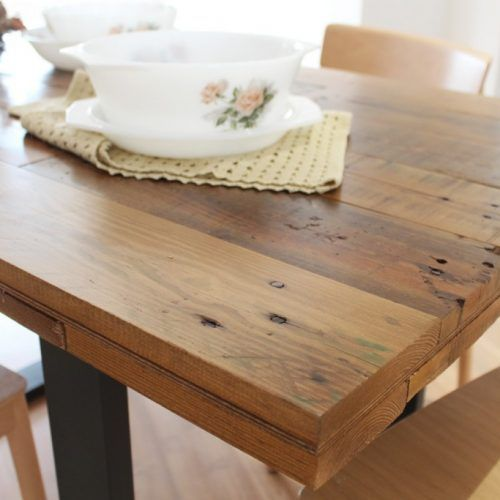 34 best Muebles madera reciclada images on Pinterest | Diner table ...