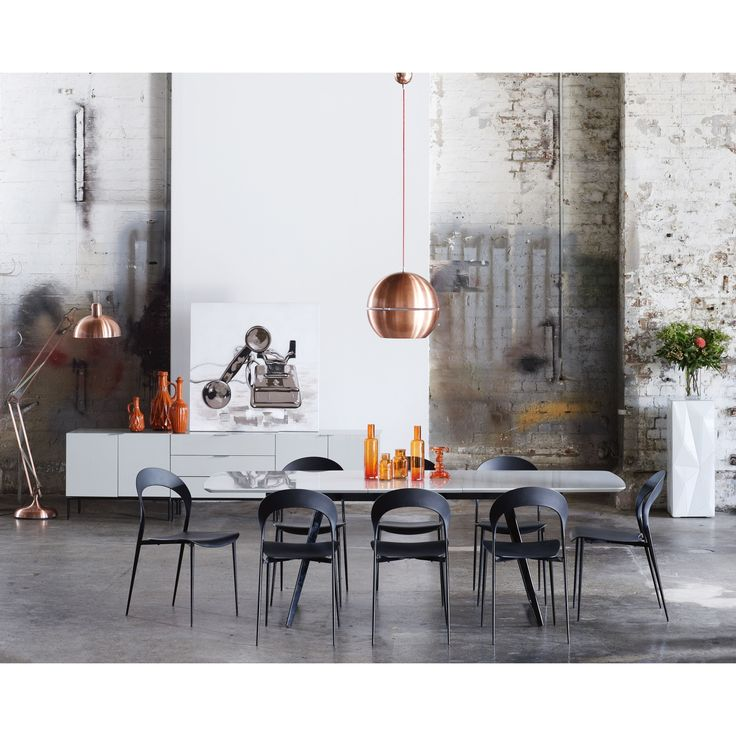 Dining Table. Industrial chic. Minimalism.