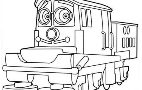 Printable chuggington coloring pages ideas for the house for Disney chuggington coloring pages