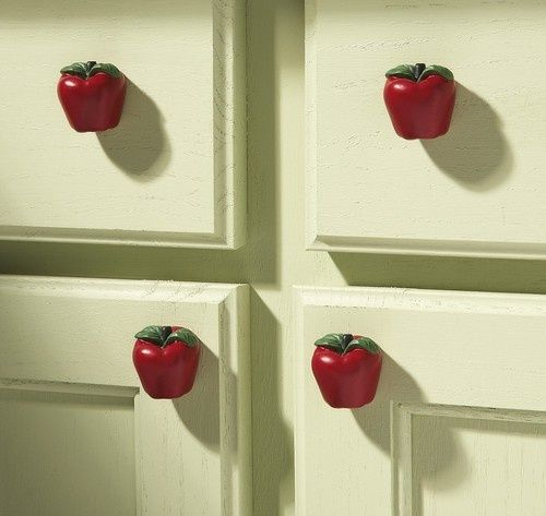 Country Apple Decor Kitchen Drawer Pulls Awesome