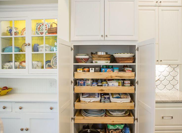 29 best helpful storage solutions images on pinterest for Kitchen design 75214