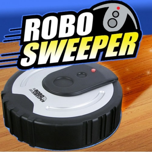 Robo Sweeper The Incredible Cordless Electric Floor