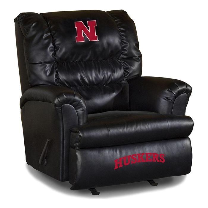 UNIVERSITY OF NEBRASKA LEATHER BIG DADDY RECLINER | Nebraska Furniture Mart  · Coupon CodesTall ...