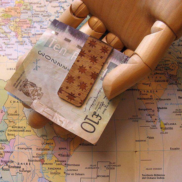 Ouzoud Pinza para billetes #moneyclip #difondere