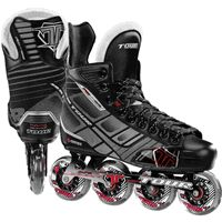 BOOT: Anatomical comfort fit system Lightweight tuff-skin exterior Custom lateral support stabilizer DPS lower center of gravity  FRAME: Tour® aluminum  WHEEL: Tour® force speed grip series Sizes 7-13, 80mm Sizes 5-6, 76mm Sizes 1-4, 72mm