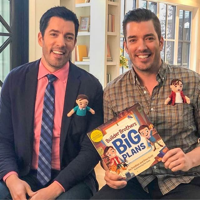 Builder Brothers Big Plans Drew Scott Hardcover With Images Celebrity Books Books For Moms Picture Book