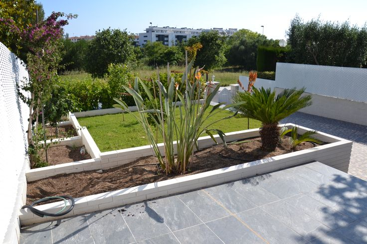 Ideas de paisajismo de exterior jardin terraza - Plantas de jardin exterior ...