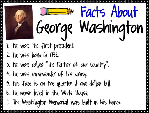 1st grade george washington | 1st grade george reading lessons