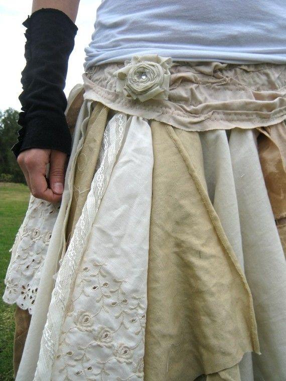 love creolesha's scrappy skirt #skirt #inspiration