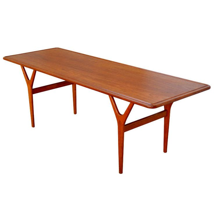 Mid-Century Teak Coffee Table by Kurt Østervig for Jason Møbler | 1stdibs.com