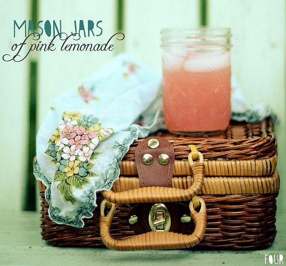 cute pink lemonade for kiddods!
