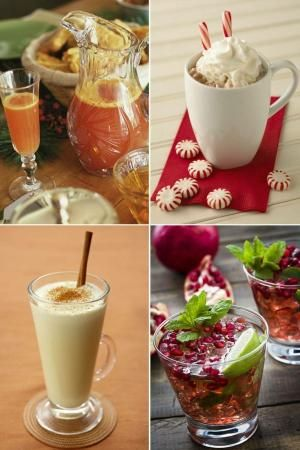 Christmas cocktails by gertrude