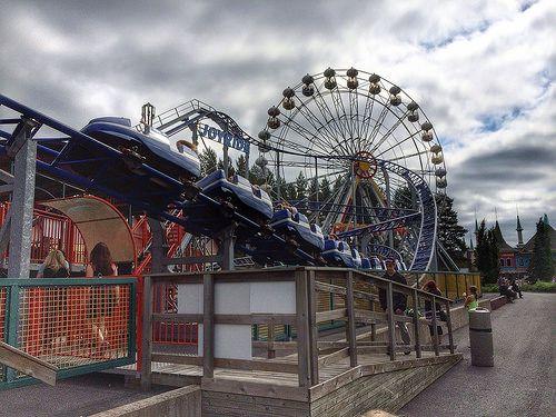 Amusement park in Finland.
