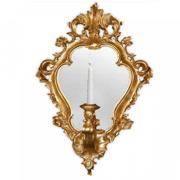 181 best wall sconces images on pinterest chandeliers light french chic regence mirror candle wall sconce 12900 thebellacottage aloadofball Images