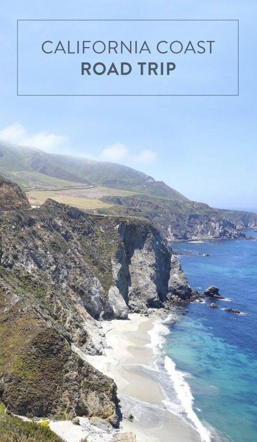 california coast road trip guide