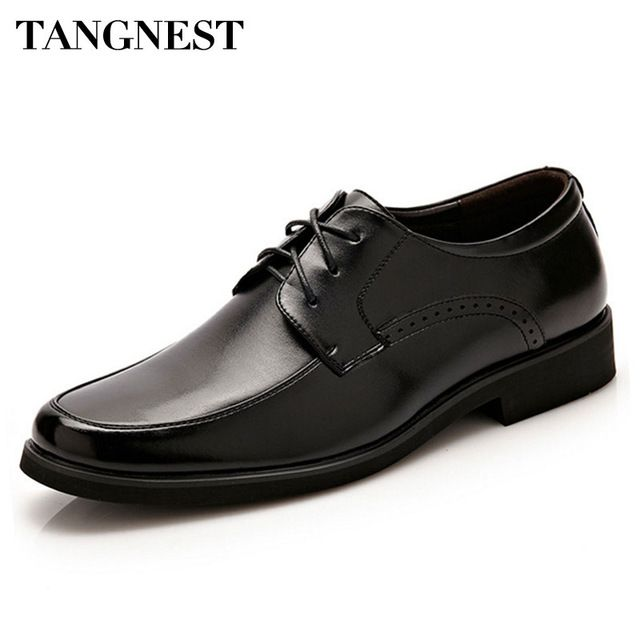 Good price Tangnest New 2017 Men Dress Flats Fashion Round Toe Lace-Up Men Formal Shoes Black Casual Business Shoes Size 38~44 XMP615  just only $20.99 - 22.99 with free shipping worldwide  #menshoes Plese click on picture to see our special price for you
