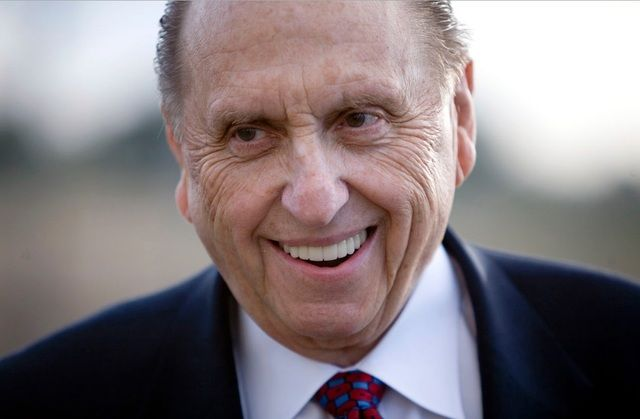 It's short—just three paragraphs. But the message President Monson recently shared on his Facebook page is an inspired one that every Mormon needs to hear to bring perspective to life here and now.