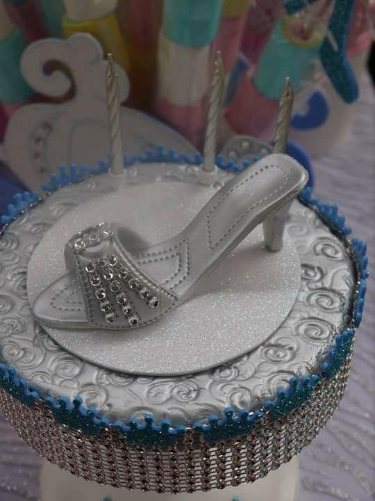 Zapato para las velitas