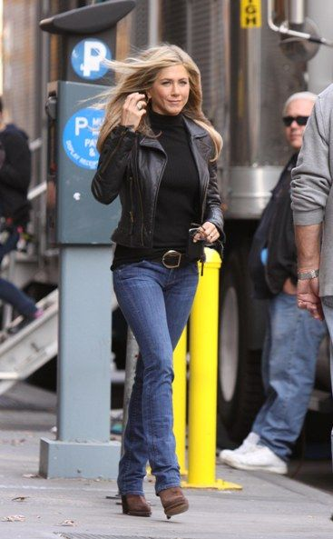 This is basically my uniform and what I live in....only the shoes change. :D      Jennifer in jeans