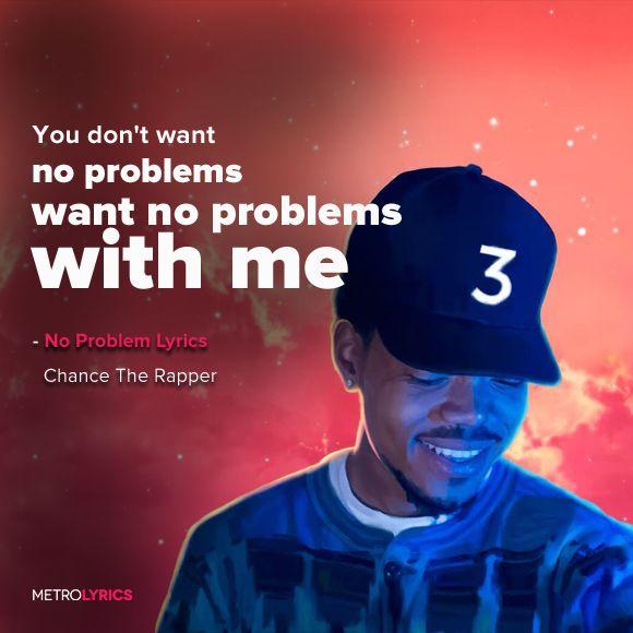 Chance The Rapper - No Problem (feat. Lil Wayne & 2 Chainz) Lyrics and…