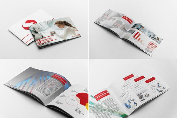 Business Report Template Marketing, Creative brochure and - company report template