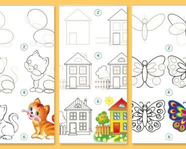 knep, knåp, knep och knåp, knep & knåp, förskola, skola fritids, barnpyssel, pyssel, pyssel för barn, pyssla och lek, pyssel för barn, pyssel, pysseltips, rita, teckna, lära sig rita, hur ritar man, bättre hälsa, hälsa, må bra, bra hälsa