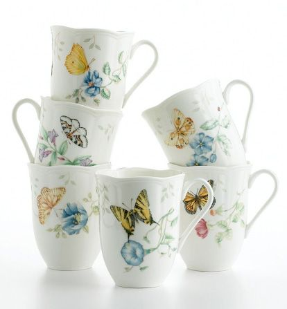 lenox butterfly dinnerware set lenox butterfly meadow dinnerware - Lenox Dinnerware