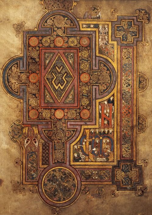 The book of Kells - Leabhar Cheanannais
