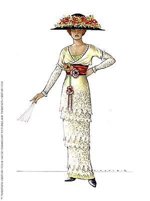 Titanic Costumes Rose's Tea Dress