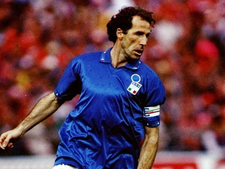 Franco Baresi del Milan y la Selección Italiana.