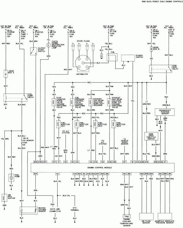 10 1996 isuzu trooper electric seat wiring diagram  wiring