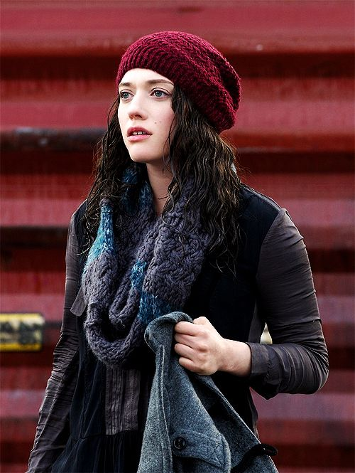 "Kat Dennings aka Darcy ... ""You know, for a crazy homeless person... he's pretty cut."""