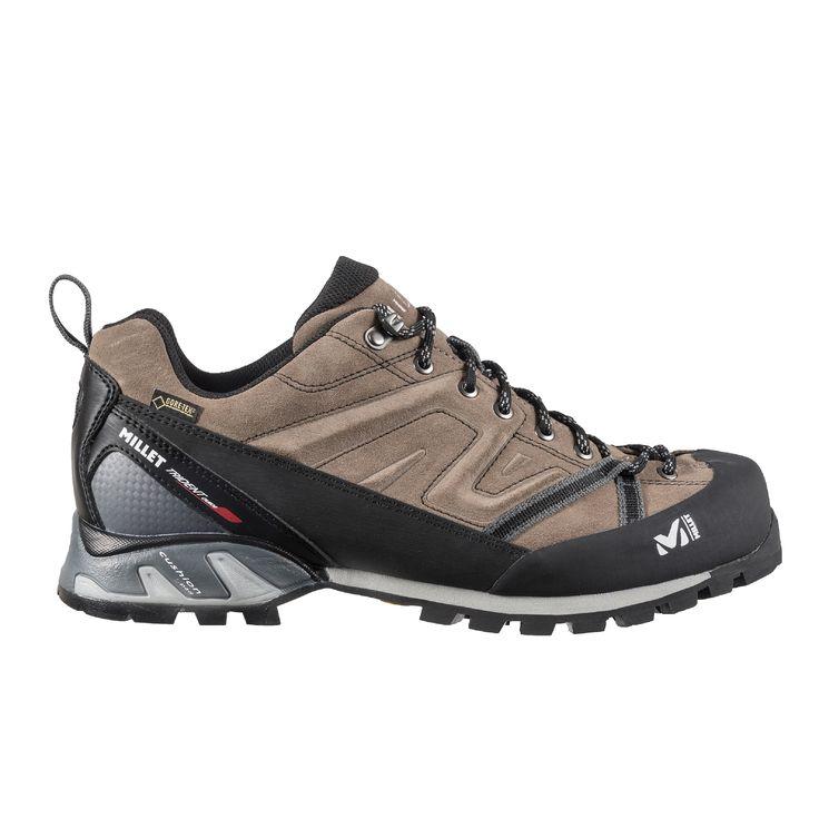 Die Low-cut-Version des Super Trident Guide GTX hat ein Obermaterial aus Leder und eine Gore-Tex®-Membrane und ist so strapazierfähig, wasserdicht und atmungsaktiv. Dieser Schuh für drei Jahreszeiten