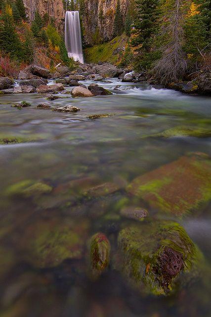 Tumalo Falls, Oregon by Skyler Hughes, via Flickr