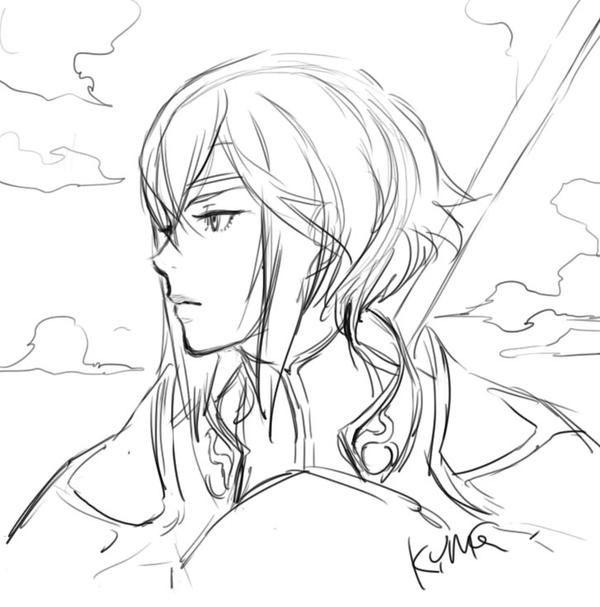 Yusuke Kozaki - Fire Emblem - Minerva