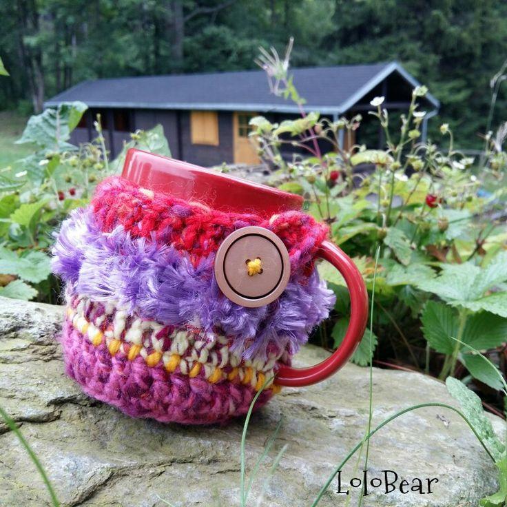 Crochet cup..