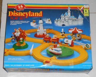Mickey mouse train set 1980 youtube